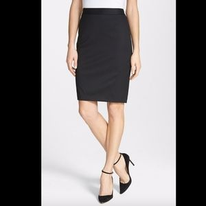 NWT Ted Baker London Miakos Suiting Pencil Skirt